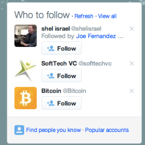 who to follow